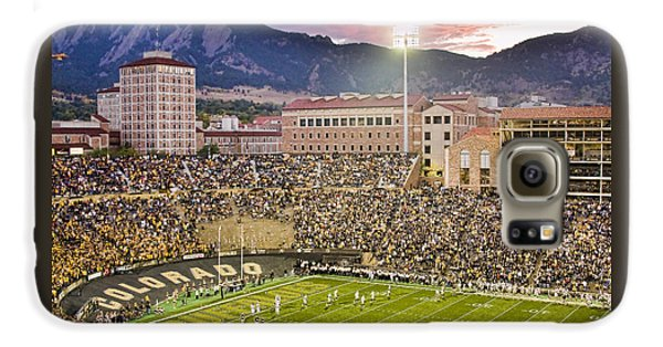 University Of Colorado Boulder Go Buffs Galaxy S6 Case by James BO  Insogna