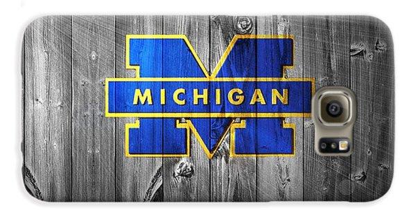University Of Michigan Galaxy S6 Case by Dan Sproul