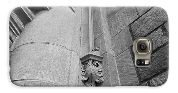 University Of Michigan Law Library Detail Galaxy S6 Case by University Icons