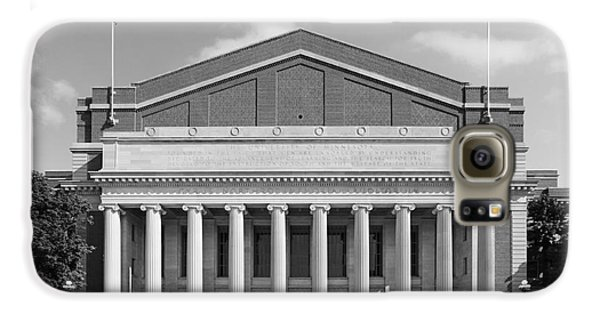 University Of Minnesota Northrop Auditorium Galaxy S6 Case by University Icons