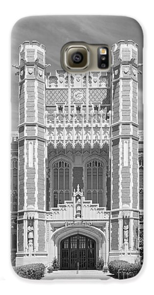 University Of Oklahoma Bizzell Memorial Library  Galaxy S6 Case by University Icons