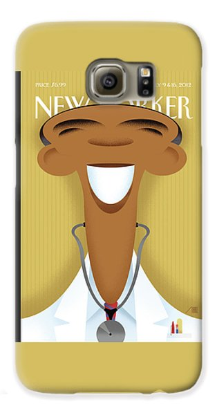 Doctor Galaxy S6 Case - New Yorker July 9th, 2012 by Bob Staake