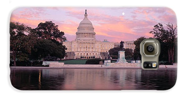 Us Capitol Washington Dc Galaxy S6 Case by Panoramic Images