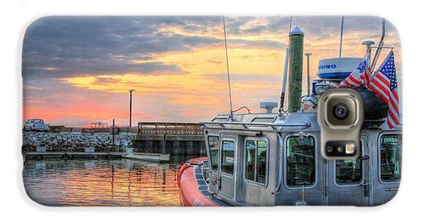Us Coast Guard Defender Class Boat Galaxy S6 Case