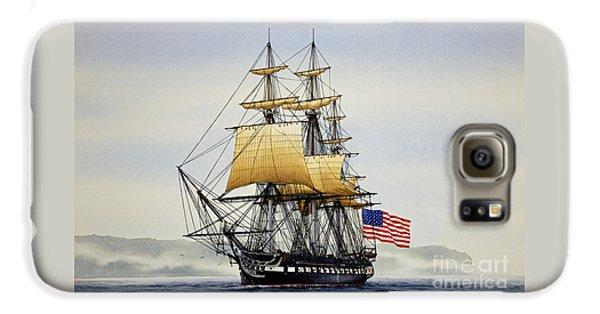 Boston Galaxy S6 Case - Uss Constitution by James Williamson