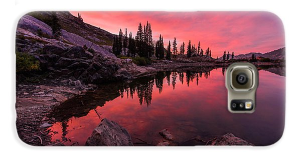 Mountain Sunset Galaxy S6 Case - Utah's Cecret by Chad Dutson