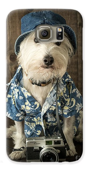 Vacation Dog Galaxy S6 Case by Edward Fielding