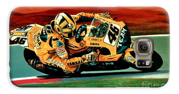 Doctor Galaxy S6 Case - Valentino Rossi The Doctor by Paul Meijering