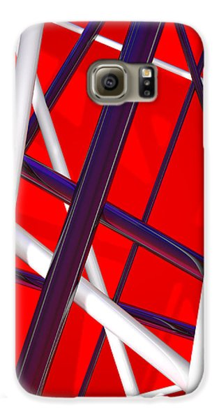 Van Halen 3d Iphone Cover Galaxy S6 Case by Andi Blair