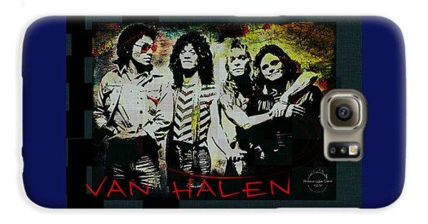 Van Halen Galaxy S6 Case - Van Halen - Ain't Talkin' 'bout Love by Absinthe Art By Michelle LeAnn Scott