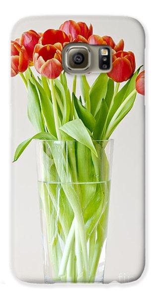 Vase Of Tulips Galaxy S6 Case