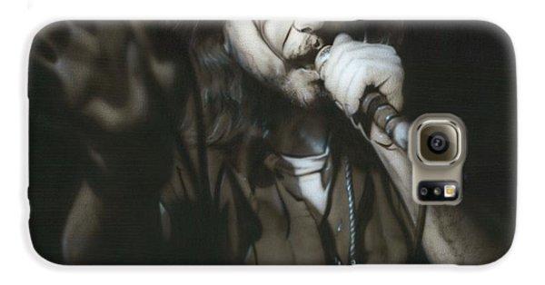 Eddie Vedder - ' Vedder IIi ' Galaxy S6 Case by Christian Chapman Art
