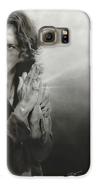 Eddie Vedder - ' Vedder Iv ' Galaxy S6 Case by Christian Chapman Art