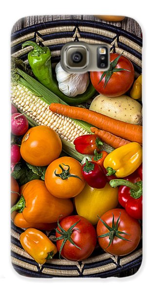 Vegetable Basket    Galaxy S6 Case by Garry Gay