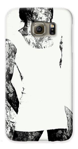 Venus Williams Paint Splatter 2c Galaxy S6 Case by Brian Reaves