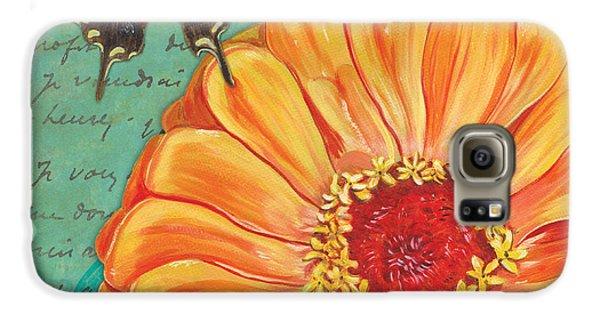 Verdigris Floral 1 Galaxy S6 Case