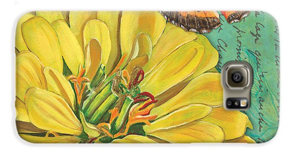 Verdigris Floral 2 Galaxy S6 Case
