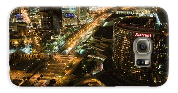 View From Top Of The Hyatt Galaxy S6 Case by Nathan Rupert