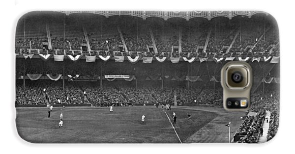 View Of Yankee Stadium Galaxy S6 Case by Underwood Archives