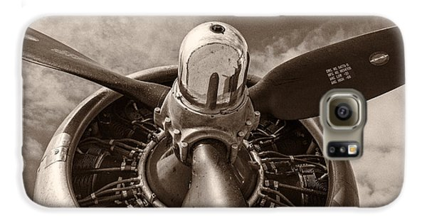 Airplane Galaxy S6 Case - Vintage B-17 by Adam Romanowicz