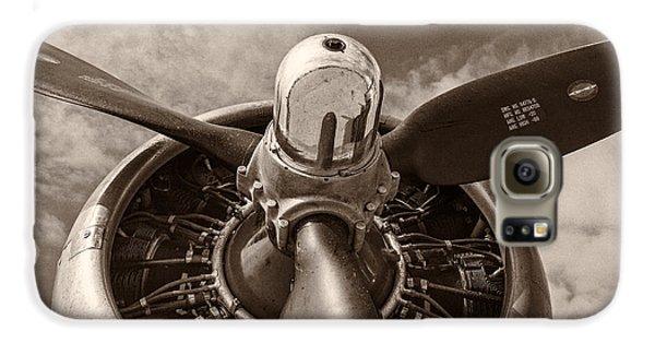 Airplanes Galaxy S6 Case - Vintage B-17 by Adam Romanowicz