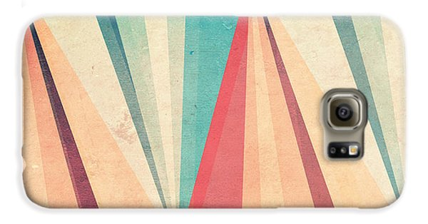 Vintage Beach Galaxy S6 Case by VessDSign