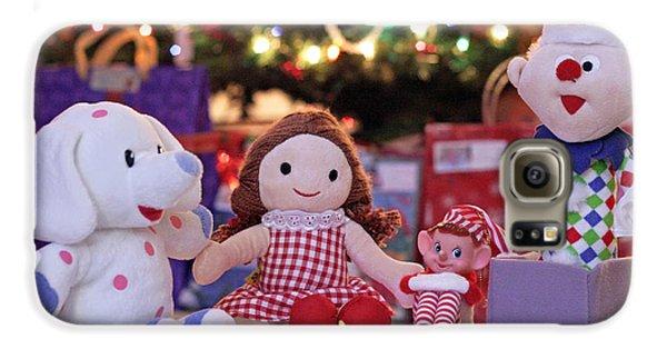 Elf Galaxy S6 Case - Vintage Christmas Elf Island Of Misfit Toys by Barbara West