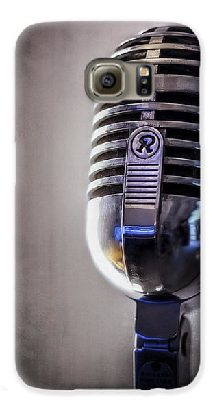Jazz Galaxy S6 Case - Vintage Microphone 2 by Scott Norris