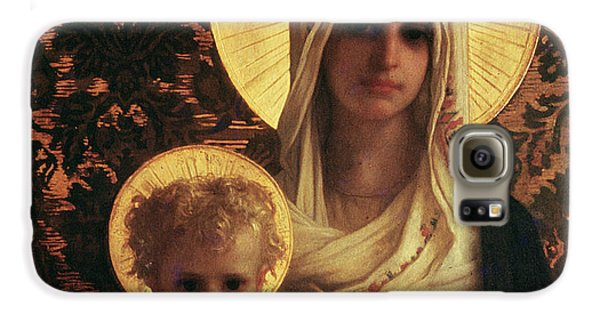 Virgin And Child Galaxy S6 Case by Antoine Auguste Ernest Herbert