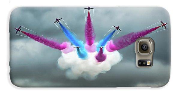 Airplanes Galaxy S6 Case - Vixen Break by Peter Walmsley