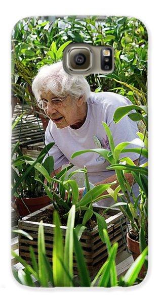 Volunteer At A Botanic Garden Galaxy S6 Case
