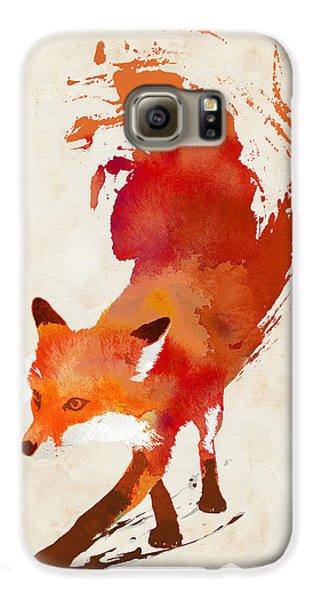 Fox Galaxy S6 Case - Vulpes Vulpes by Robert Farkas