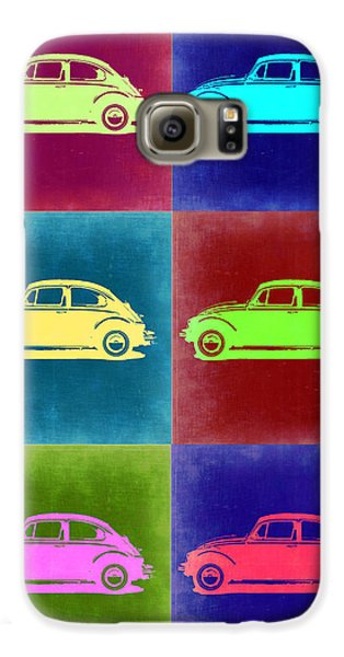 Beetle Galaxy S6 Case - Vw Beetle Pop Art 2 by Naxart Studio