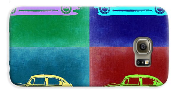 Beetle Galaxy S6 Case - Vw Beetle Pop Art 3 by Naxart Studio