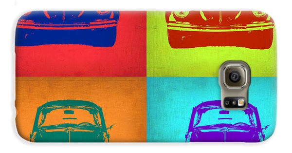 Beetle Galaxy S6 Case - Vw Beetle Pop Art 5 by Naxart Studio
