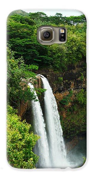 Wailua Falls Kauai Galaxy S6 Case