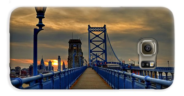 Walk With Me Galaxy S6 Case by Evelina Kremsdorf