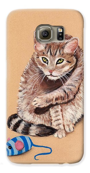 Galaxy S6 Case featuring the painting Want To Play by Anastasiya Malakhova