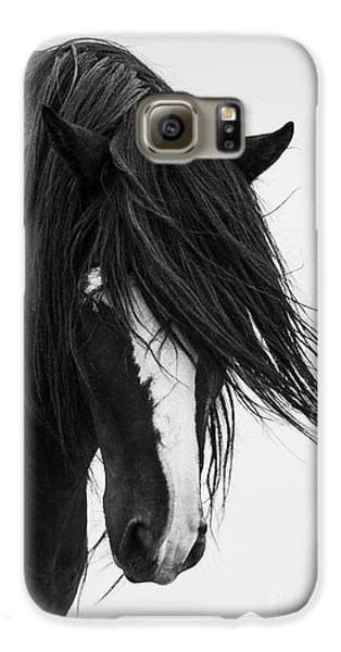 Horse Galaxy S6 Case - Washakie's Portrait by Carol Walker