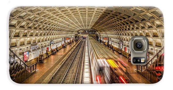 Washington Dc Metro Station Xi Galaxy S6 Case