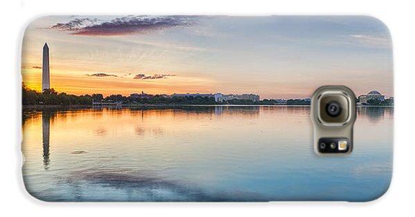 Galaxy S6 Case featuring the photograph Washington Dc Panorama by Sebastian Musial