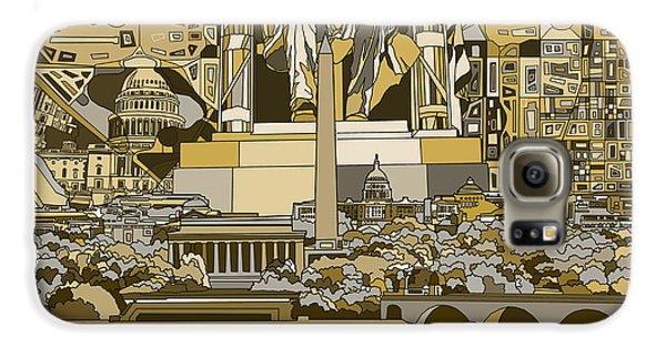 Washington Dc Skyline Abstract 4 Galaxy S6 Case
