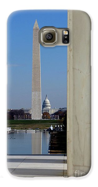 Washington Landmarks Galaxy S6 Case by Olivier Le Queinec
