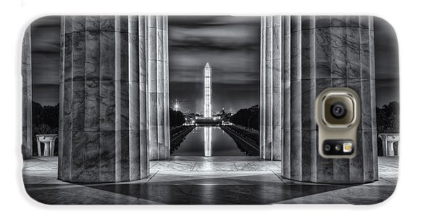 Washington Monument From Lincoln Memorial II Galaxy S6 Case