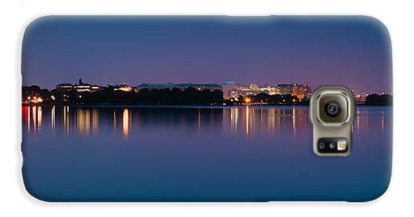 Galaxy S6 Case featuring the photograph Washington Skyline by Sebastian Musial