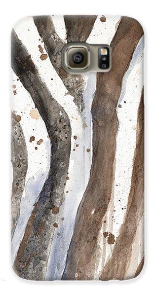 Watercolor Animal Skin II Galaxy S6 Case by Patricia Pinto