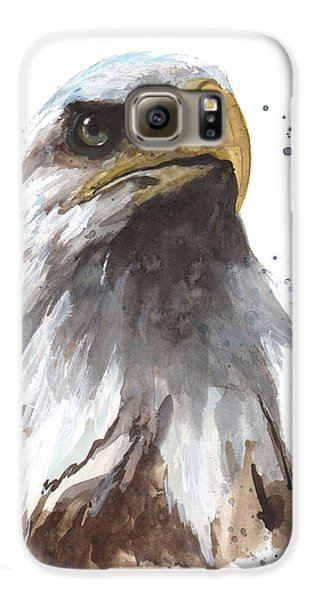 Watercolor Eagle Galaxy S6 Case by Alison Fennell