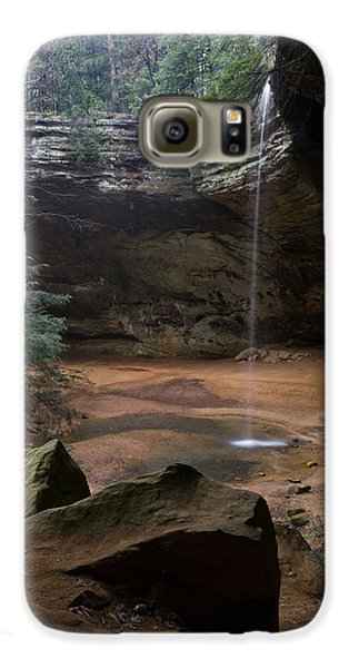 Waterfall At Ash Cave Galaxy S6 Case