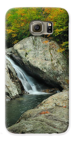 Waterfall In West Fork Of Pigeon River Galaxy S6 Case