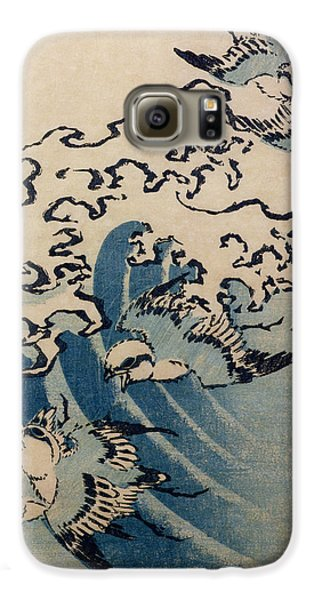 Waves And Birds Galaxy S6 Case